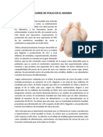 PRODUCCIÓN DE CARNE DE POLLO EN EL MUNDO