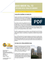 Estudio Breve Oficinas Velle Del Aburra - Junio -09