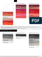 WGSN Global Colour Analysis AW1415 Barometer ENG