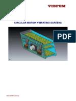 Vibrating Screens - Circular Motion Rev 1