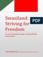 Swaziland Striving for Freedom Vol 9 September 2013