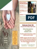 W3 October Flyer