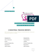 Training Report.