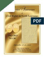 Golden Anniversary Celebration of Civil Rights Activities in North Louisiana