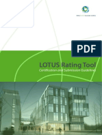 Lotus Certification and Submission Guidelines 2010