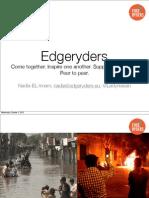 Edgeryders JoziHub Notes