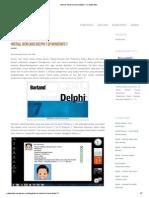 Tutorial Install Borland Delphi 7 _ Catatan Eko