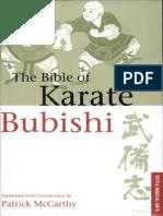 Bubishi the Bible of Karate