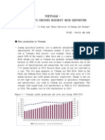 %5B주간이슈분석_20130418%5DVu+Diep+Anh_VIETNAM+–+THE+WORLD'S+SECOND+BIGGEST+RICE+EXPORTER