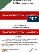 Parasitoses Intestinais na Infância.pptx
