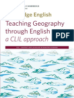 Teaching Geography Through English - A CLIL Approach