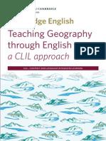 Teaching Geography Through English - A CLIL Approach