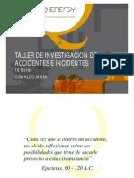 Taller investigación de accidentes LAMINAS 171011