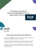Presentación PEOPLE Training School