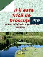 Broasca - Material pentru uz scolar