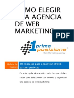 Cómo elegir una Agencia de Web Marketing