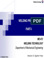 Welding Processes Part I