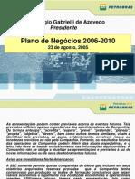 Estratégia corporativa da PETROBRAS 2006-2010