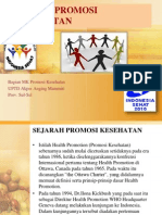 Konsep Promosi Kesehatan