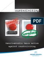 Drug Counterfeiting