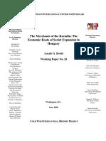 Bohri, Merchants of the Kremlin (Analisi Economica Dell'URSS in Ungheria)