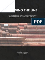 SHWE GAS REPORT :DrawingTheLine ENGLISH
