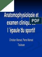 Epaule Du Sportif