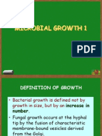 Microbial Growth 1 2010