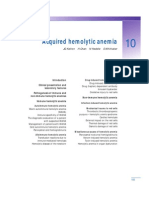 Acquired Hemolytic Anemia