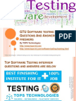 GTU Software testing Interview Questions And Answers for freshers