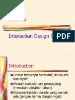 HCI_06 - Interaction Design Support