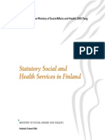 Statutory Social and Health Services in Finland En