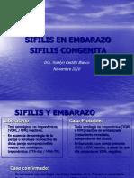9.- Sífilis en Embarazo y Congénita septiembre 2010