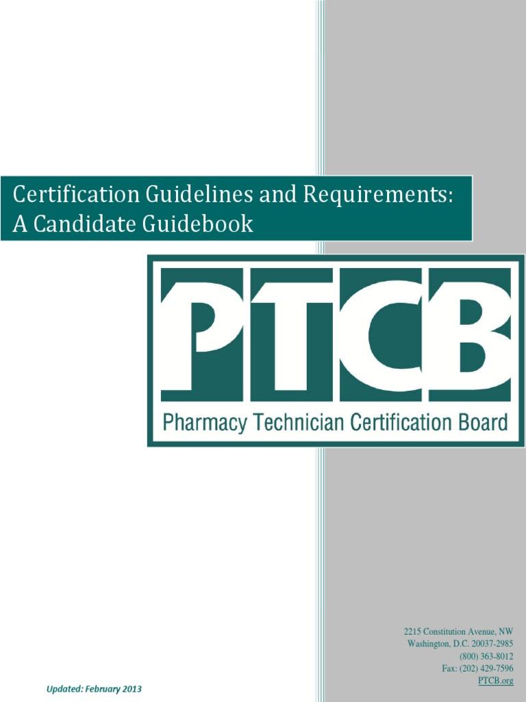 Ptcb Guidebook Pharmacist Pharmacy