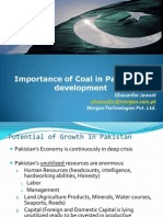 Ghazanfar Jawaid Importance of Coal