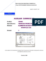 Elemente de Baza Privind Interfata CAD