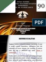 Tugas Manajemen Kualitas Kesuma Ningrum 122121062 (E41)