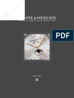 Baume Et Mercier Catalogue 2013 French