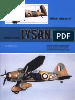 (Warpaint Series No.48) Westland Lysander