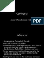 Cambodia  architecture