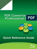 Pdf converter Pro. 8. Guía rápida. Inglés.