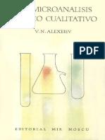 Semi Microanalisis Quimico Cualitativo