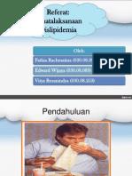 penataksanaan dislipidemia (Referat)