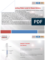 Methods of Detecting Water Level in Steam Boilers