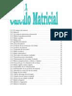 C Lculo Matricial - Algebra Lineal - By Santirub
