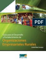 Guía Metodológica para Organizaciones Rurales Empresariales - DISEÑO FINAL