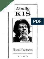 Homo Poeticus - Danilo Kiš
