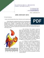 Apel Misyjny - październik 2013 [POLSKI]