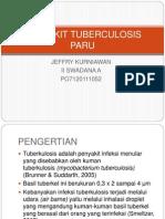 Penyakit Tuberculosis Paru