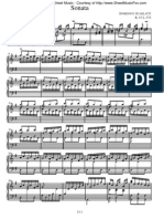 Scarlatti - Piano Sonata K0015
